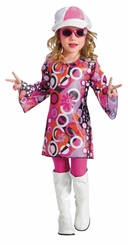 Toddler or Girls 70's Costume - Feelin' Groovy - SOLD OUT