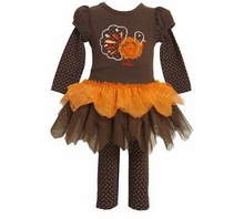 Turkey Diva Tutu Pant Set  3T - Final Sale