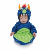 Unisex Child Blue Monster Bunting - Monster Costume