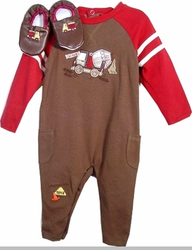 Vitamins Baby Truck Clothes Gift Set with Shoes - SOLD OUT