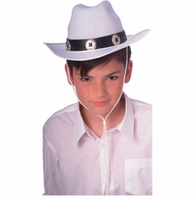 White Cowboy Hat - Western Hat for Child