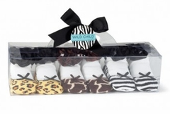 Wild Child Animal Print Socks -  Set of 3  SOLD OUT