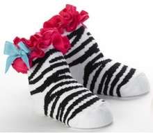 WILD CHILD Zebra Baby Socks