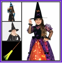 WITCH COSTUMES - MONSTER COSTUMES - GHOST COSTUMES