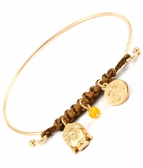 Women's Bracelet  Buddha Bead Bangle Bracelet