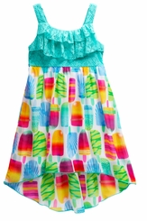 Youngland Little Girls Popsicle Dress