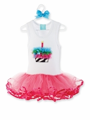 Zebra Tutu Dress  sold out