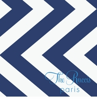 chevron pattern navy