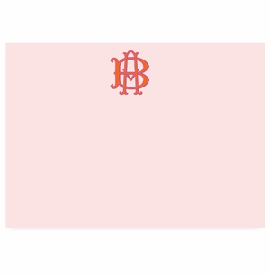 solid pale pink with paley font