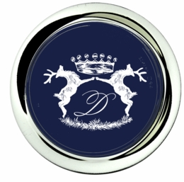 coaster; stags navy