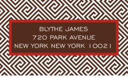 diamond in the sky; address labels