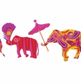 elephants march
