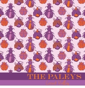 bugs pattern purple and orange