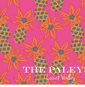 pineapple pattern pink