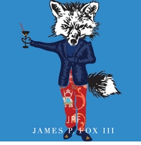 james the fox french blue