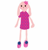lady bunny pink