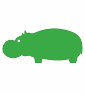 Little Hippo Green
