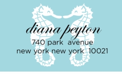 Love Seahorse Sky; address labels