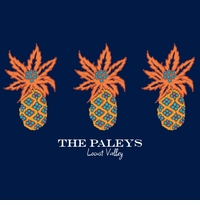 triple pineapples navy