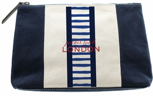 marley clutch navy-sailor stripe