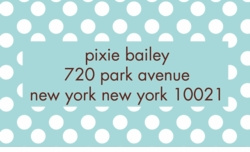 st.barths dots; address labels