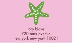 starfish; address labels