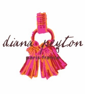 tassel pink and orange