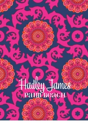UBUD pattern pink and navy