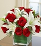 Christmas Rose and Lily Bouquet