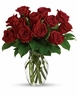 Happy Valentine's  Day 12 Red Roses