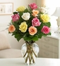 Rose Elegance� Premium Long Stem Assorted Roses
