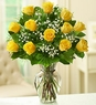 Yellow Rose Elegance Premium Long Stem Roses