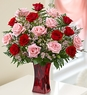 Shades of Pink and Red� Premium Long Stem Roses