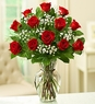 Valentine's Rose Elegance Premium Long Stem Red Roses