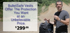 BulletSafe Bulletproof Vests - A Great Bulletproof Vest for $299