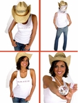 Introducing The Bachelorette Party Cowgirl Hat - January 30, 2006