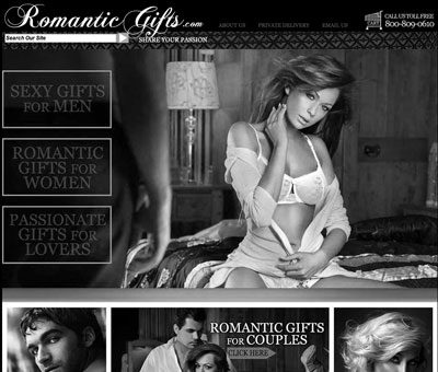 "RomanticGifts.com Announces New ""50 Shades of Grey"" Category - July 26, 2012"