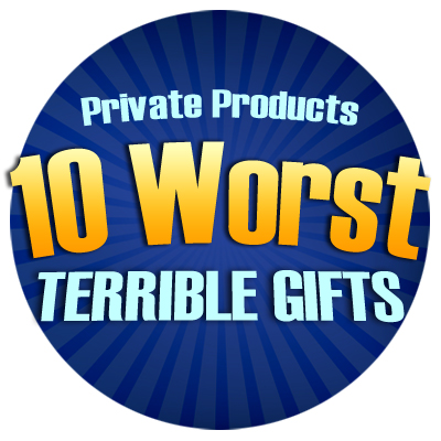 The 10 Worst Christmas Gifts of 2012 - December 1, 2012