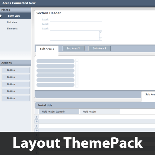 Areas Connected Layout ThemePack