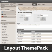 Brown Bag Layout ThemePack