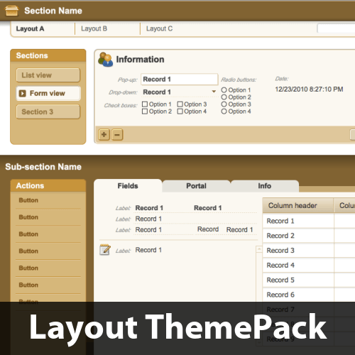 Classic Navigation 2 Layout ThemePack
