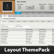 Corkboard Focus Layout ThemePack