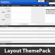 Hard Contrast Layout ThemePack