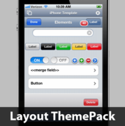 iPhone Layouts Layout ThemePack