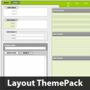 Rounded Heavy Borders Layout ThemePack