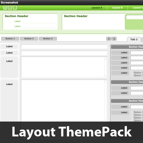 Strong Headers Layout ThemePack
