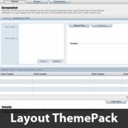 Tabs Down (subtle) Layout ThemePack
