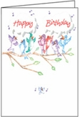 B1115V - Sing About Volunteer Birthday Cards