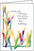 B112 - Candles Birthday Cards