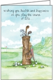 B2149 - Golf Birthday Cards